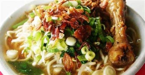 cara membuat mie ayam indonesia resep cara membuat mie ayam ceker lezat nikmat aneka