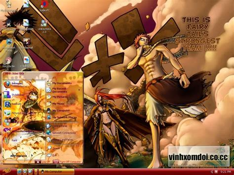 firefox themes fairy tail theme xp fairy tail by vinhxomdoi on deviantart