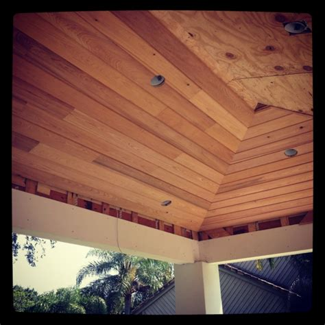 Inverted Vaulted Ceiling T G Vaulted Hip Ceiling Carpentry Picture Post