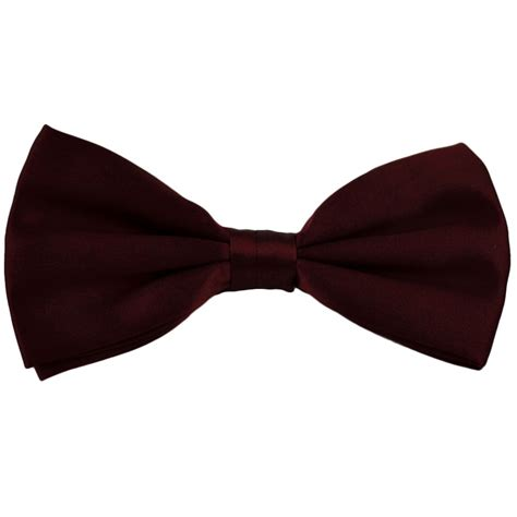 bow tie plain burgundy silk bow tie from ties planet uk