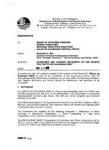 memo 2008 guidelines amp pageant mechanics for mutya ng
