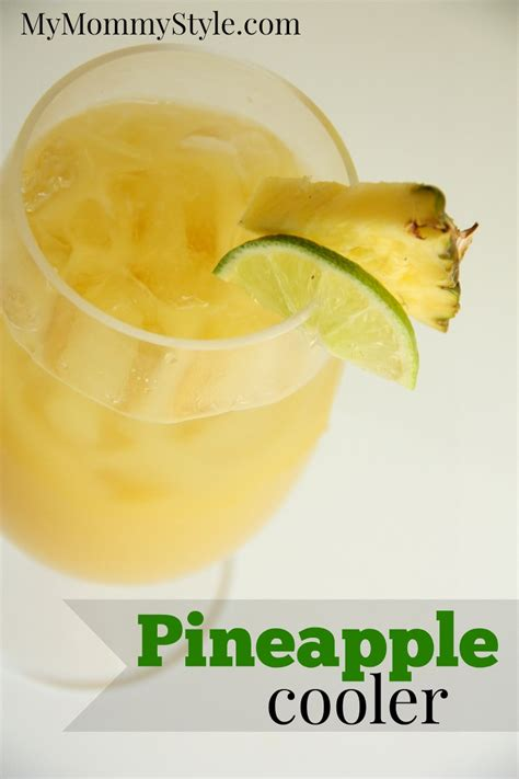 Pineapple I Mommyi pineapple cooler my style