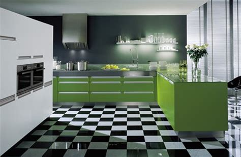 green kitchen modern interior design ideas with white 57 bright and colorful kitchen design ideas digsdigs