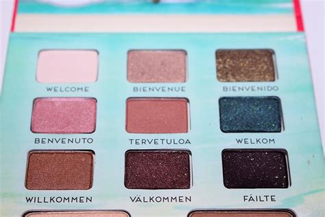 The Balm Voyage Vol 2 Palette thebalm voyage vol 2 palette review swatches really ree