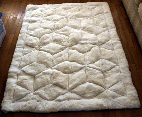 alpaca rugs 52 x 71 white alpaca rug cube