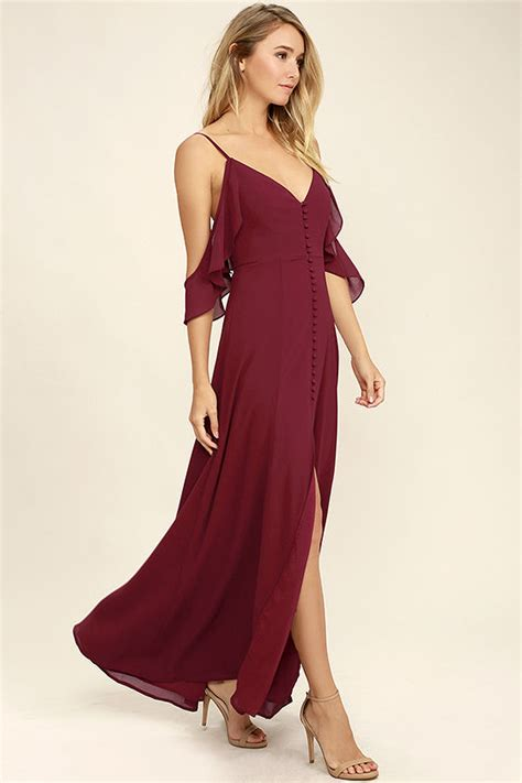 wine colored maxi dress lovely wine dress maxi dress dress 84 00