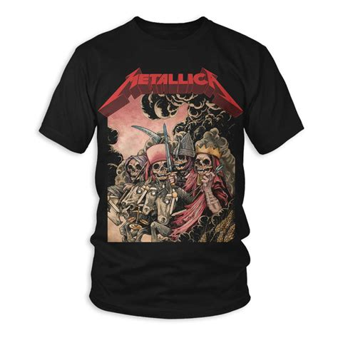 Tshirt St Anger Black Metallica the four horsemen t shirt metallica