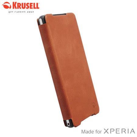 Sale Krusell Kiruna Flipcover For Sony Xperia Z2 Black 2003 krusell kiruna flipcover for sony xperia z2 camel