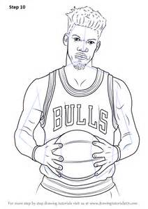 sketch book of washington irving learn how to draw jimmy butler basketball players step