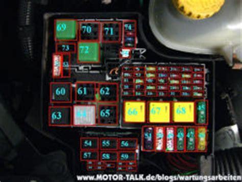 1er Bmw 2006 Airbag Ausschalten by Sicherungskasten Wartungsarbeiten