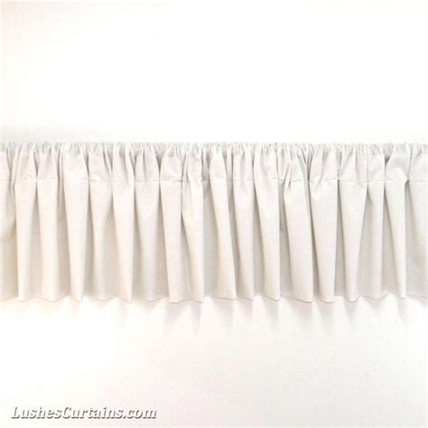 curtains toppers window treatments white rod pocket curtain topper velvet
