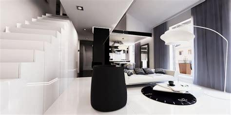 desain interior rumah hitam putih desain interior apartemen hitam putih rumah dan desain