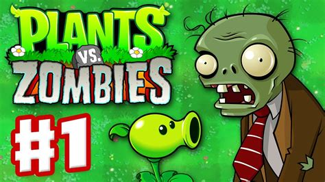 Mouse Planet Vs Zombi plants vs zombies gameplay walkthrough part 1 world 1 hd