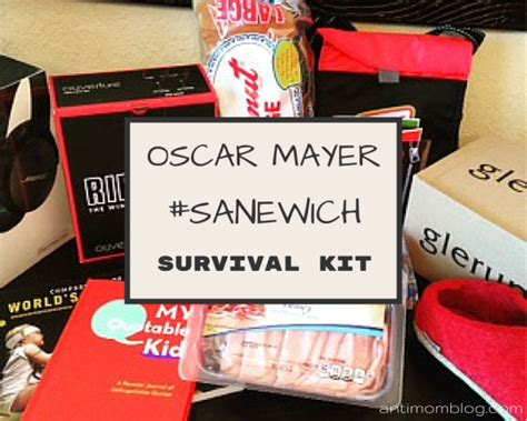 Perlengkapan Cing Survival Kit 12 In 1 survive summer with the sanewich survival kit the anti
