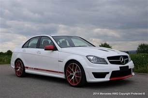 Mercedes C63 Amg 507 Edition Special Mercedes C63 Amg Edition 507 Unveiled For