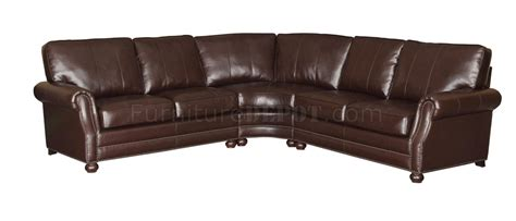 503876 jovana sectional sofa in bonded leather match by