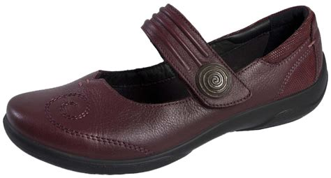 flat comfort shoes padders womens leather comfort shoes wide