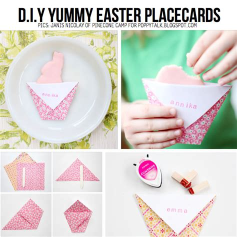Easter Diy Decorations by Diy Easter Place Cards Pictures Photos And Images For