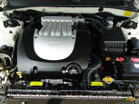 Kia Optima Engines 2006 Kia Optima Ex V6 Engine Photos Gtcarlot