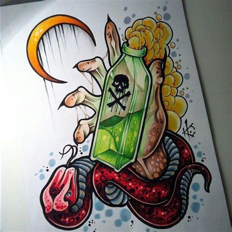 tattoo new school traditional traditional tattoo poison snake hand эскизы тату