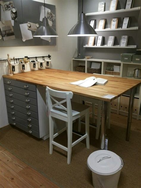 craft table with storage ikea ikea think i am loving the grays seen on