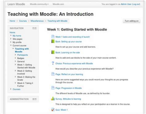 moodle theme standard standard themes moodledocs