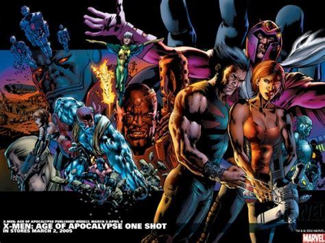 libro x men age of apocalypse x men age of apocalypse one shot 2005 wallpaper x men wallpapers apps marvel com