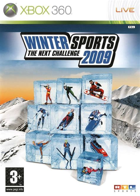 The Ultimate Challenge jaquettes winter sports 2009 the ultimate challenge