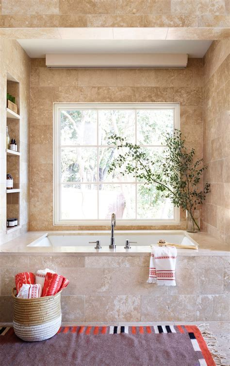 relaxing bathroom decorating ideas with small wall ceramic tiles weekend notes a home tour camille styles