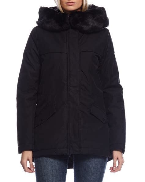 The Gant Parka gant winter parka black vinterjakker p 229 zoovillage