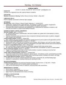 Icu Resume Sle by Cv Template Uk Nursing