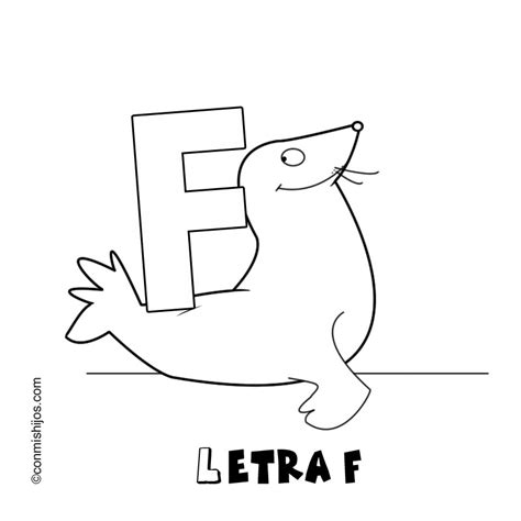 imprimir dibujos con la letra f empiecen con la letra u colouring pages