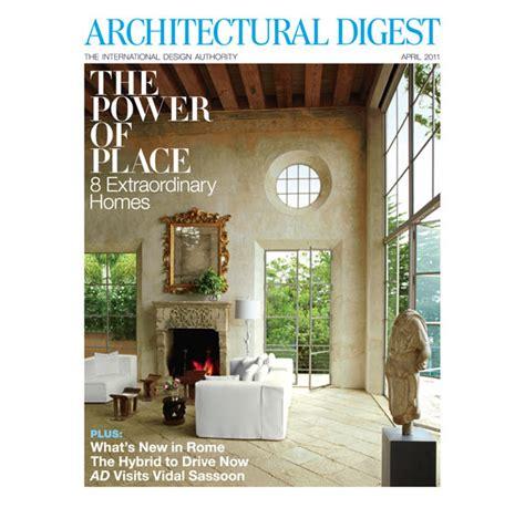 architectural digest architectural digest magazine april 2011 images