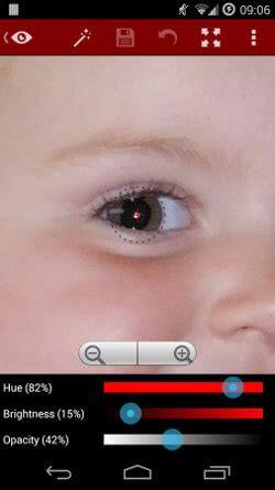 editor de imagenes quitar ojos rojos c 243 mo quitar los ojos rojos de las fotos en android y ios
