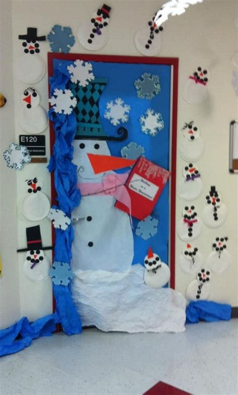 winter classroom door decorating ideas pin by sexton tucker on preschool door decorating