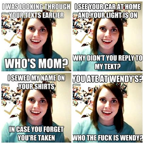 overly attached meme when being the overly attached is actually cool