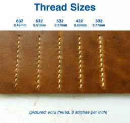 White linen thread cord for sewing leather leathercraft