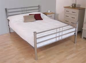 bed frames roma chrome bed frame dreams