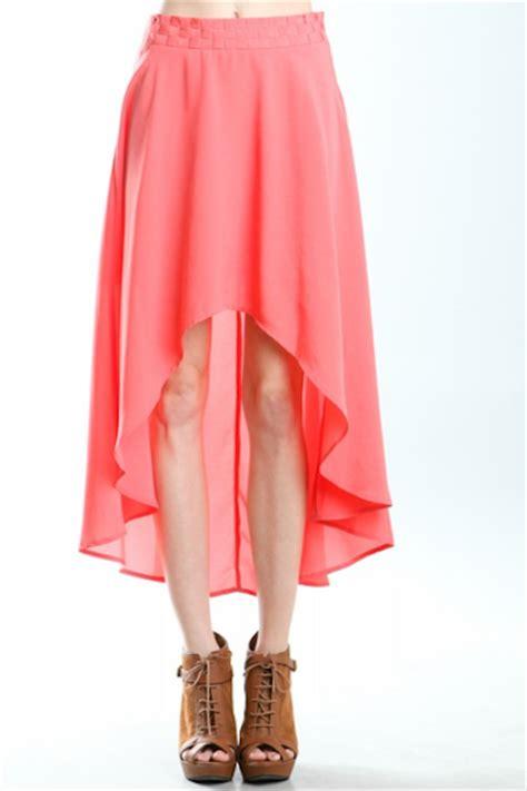 miss bee high low skirt dresses