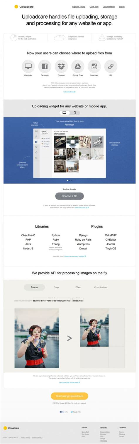 home care website design inspiration uploadcare handles file uploading storage and processing