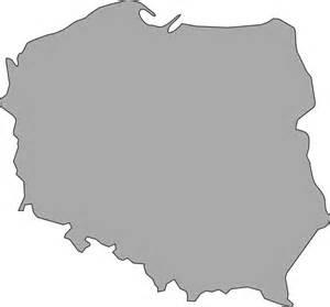 poland map vector map of poland clip at clker vector clip royalty free domain