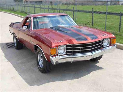 1972 el camino 1972 chevrolet el camino for sale on classiccars