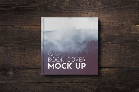 book cover pictures free square book cover mock up new price on behance