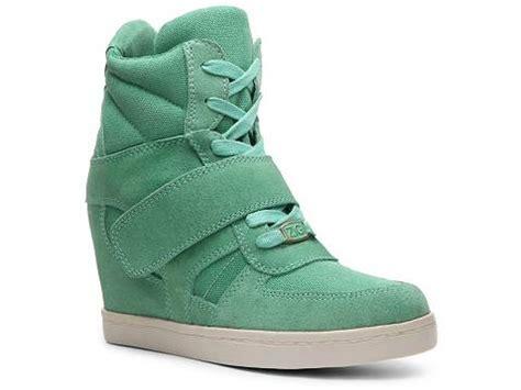 wedge sneakers dsw zigi soho kickin suede wedge sneaker dsw
