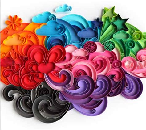 Paper Crafts Designs - inspiring quilling designs paper crafts and unique gift