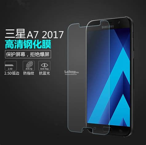 Temper Glass Screen Samsung A7 2017 samsung galaxy a7 2017 tempered glas end 2 10 2018 4 45 pm