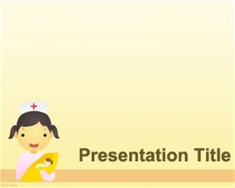 Pediatrician Powerpoint Template Pediatric Powerpoint Templates Free