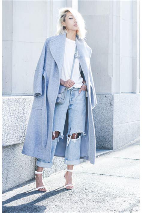 light blue wool coat light blue theyskens theory coats light blue thpshop