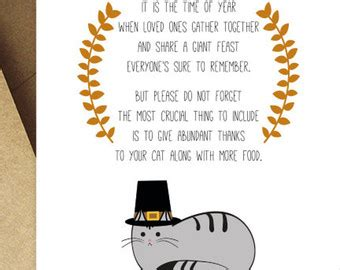 printable thanksgiving cards funny happy thanksgiving cat card printable thanksgiving cards