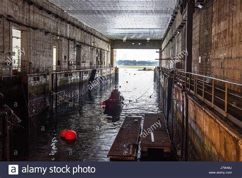 u boat pens second world war u boat pen in keroman iii bunker lorient